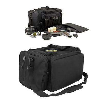 Ultimate Tactical Deluxe Range Duffle Bag 1000D HD Padded Polyester Pistol Ammo