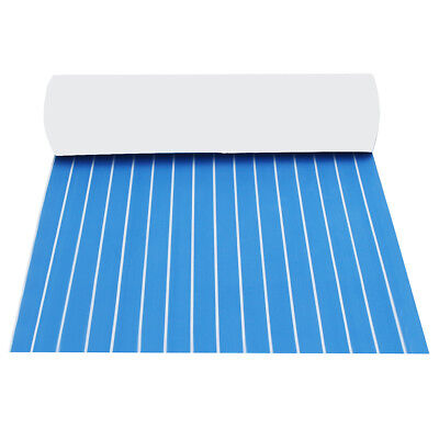 120x240cm Blue EVA Foam Boat Flooring Teak Yacht Sheet Pad 5mm/6mm Decking Mat