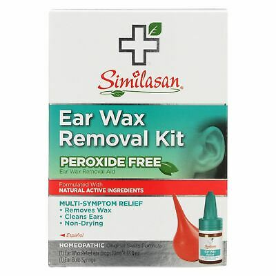Similasan Ear Wax Relief Ear Drops And Ear Wax Removal Kit - Case Of 1 - 1 Kit