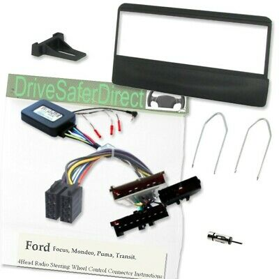 SWC-2090-a Steering Wheel Control/Fascia Kit for ISO Radio/Ford Focus Mk1 98-04