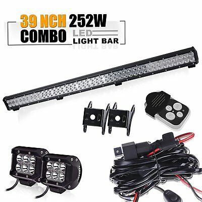 "Toyota tacoma chevy silverado titan pathfinder SUV 39"" Led Work Light Bar+light"