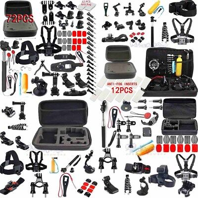 Sprots GoPro Accessories kit/box/Anti-Fog for GoPro HERO session/5/4/3/2 Cameras