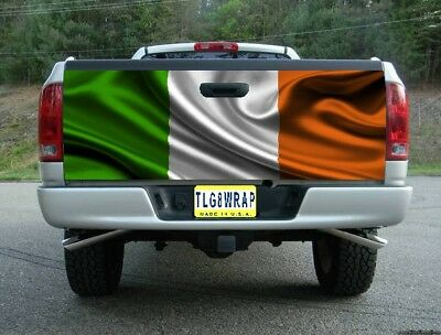 Grunge German Flag Tailgate Wrap Vinyl Graphic Decal Sticker Wrap #364
