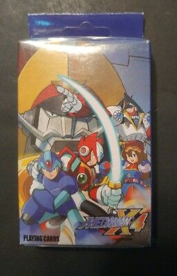 (New & Sealed) Megaman X4 Anime Playing Cards - Official Licensed (#2040)
