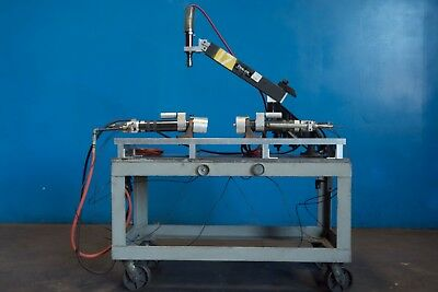 Flex Arm A32 Pneumatic Tapping Insertion Assembly Production W 2 ARO Drills