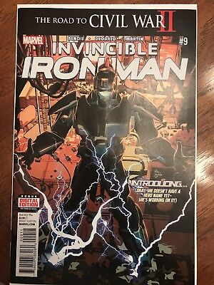 Invincible Iron Man #9 (May 2016, Marvel) (NM)