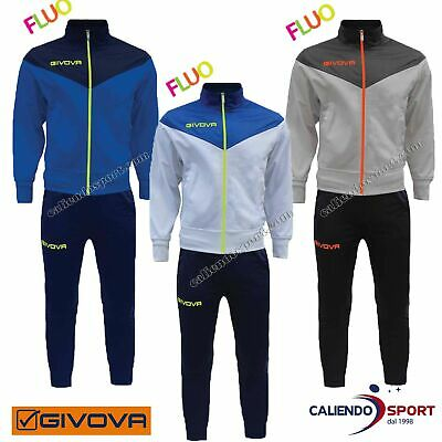 Suit Mens Givova Venice Trf030 Fluo Training Boy Sports Gym Free Time