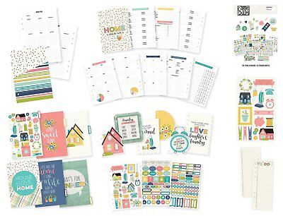 Carpe Diem Home Planner - A5 Inserts and Accessories - Home Planner Insert Set,