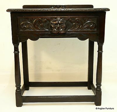 Small Victorian Server Sideboard Carved, Green Man FREE Nationwide Delivery *