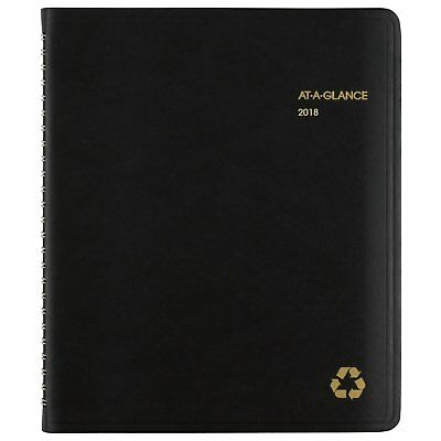 AT-A-GLANCE Weekly / Monthly Appointment Book / Planner, Recycled, January 2018