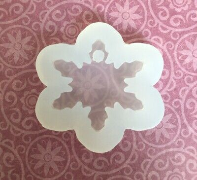 Silicone Mould Christmas Snowflake resin mould