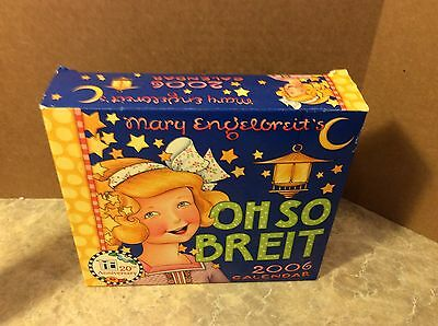 OH SO BREIT! MARY ENGELBREIT 2006 DAY TO DAY DESK CALENDAR - NEW (Old Stock)