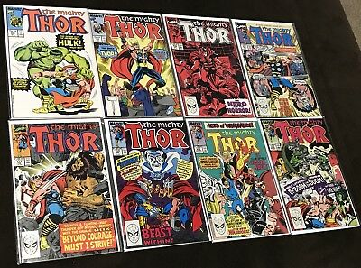 Marvel Thor Comics High Grade Lot Of 8