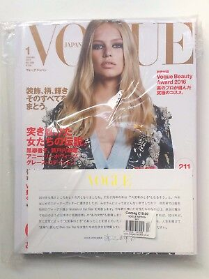 Vogue Japan January 2107, Anna Ewers cover, new & sealed