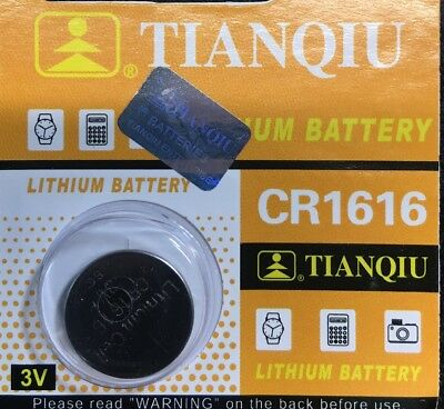 CR 1616 BR1616 ECR1616 5021LC Lithium Battery Coincell Button 1 Pce