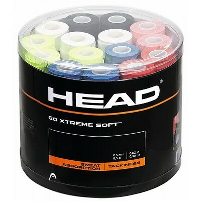 4x HEAD XtremeSoft Overgrip - FAST Free Postage - Overgrips over grip - tennis