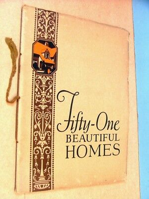 Architectural Interest 51 Beautiful Homes House Plans 1925  Price Inc Shpng