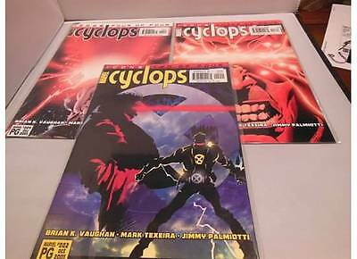 Cyclops (2001) Icons #2-4 Comic Book Lot Run 2 3 4 Marvel comics