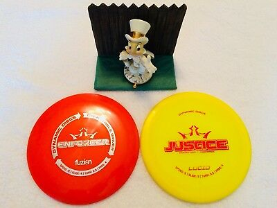 Disc Golf Discs Lot of 2, Dynamic Disc Very Nice.. 1 Driver, 1 Mid Range