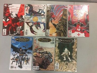 Low Grade Batman Incorporated Comic Book Lot 2 3 4 5 6 7 8