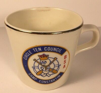 Circle Ten council BSA Camp Constantin Coffee Mug Boy Scouts Of America