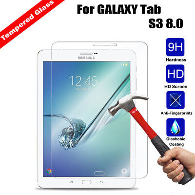 Genuine Tempered Glass LCD Screen Protector Film Cover For Samsung Galaxy Tablet