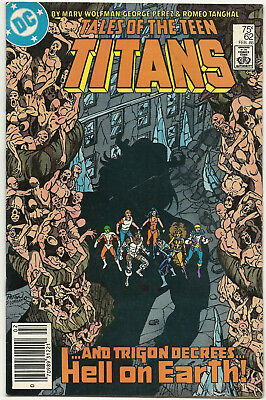 Tales of the Teen Titans #62 63 64 65 66 67 Lot of 6 1986 G Perez J Garcia Lopez
