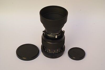 EXOTIC Mamiya 150mm f/5.6 Telephoto Lens for Polaroid 600SE with Hood and Caps