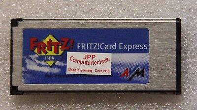 AVM PCMCIA ISDN Fritz Fritz-Card EXPRESS ohne Kabel