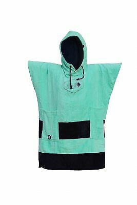 Poncho All In Junior Little Dragon Turquoise Navy