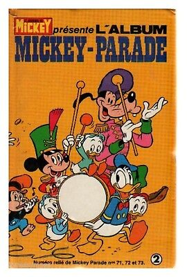 Mickey Parade  Album N° 2 ( 71 72 73 )  De 1986  Tbe  Cartonne