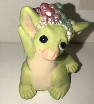 """WHIMSICAL WORLD OF POCKET DRAGONS """"WASH BEHIND YOUR EARS"""" Signed"""