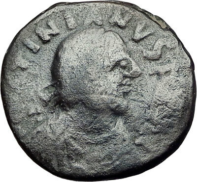 JUSTINIAN 527AD Carthage Follis Authentic Ancient Medieval Byzantine Coin i65004