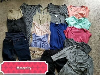 17 Pieces of Maternity Clothing - Loft, Gap, Motherhood Maternity