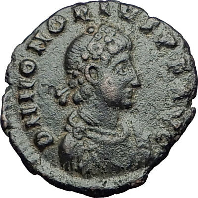 HONORIUS on Horse 392AD Original Genuine Authentic Ancient Roman Coin i65014