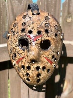 Jason Voorhees cracked Custom-made Mask replica~ high quality
