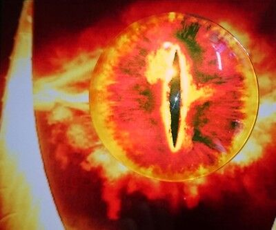 Eye of Sauron glass sphere The Lord of the Rings The Hobbit collectable magnet