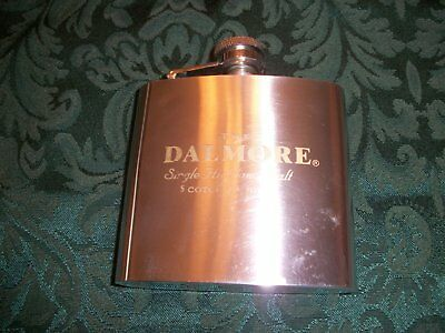 VINTAGE DALMORE SINGLE HIGHLAND MALT SCOTCH WHISKY FLASK 6 oz.