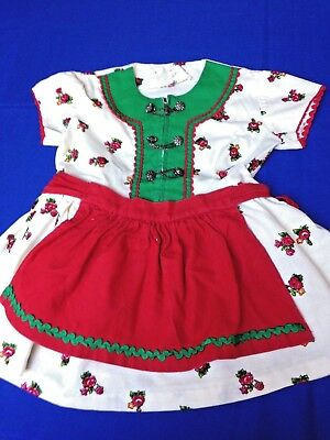 Traditional German Dress with Apron for Child