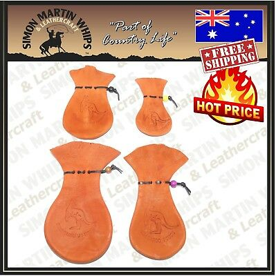KANGAROO SCROTUM LEATHER COIN POUCH ALL SIZES - 100% Australian Tanned