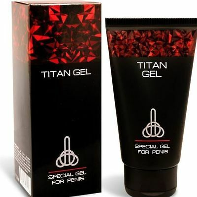 Titan lubricant gel for men. 100% ORIGINAL! WITH HOLOGRAM.