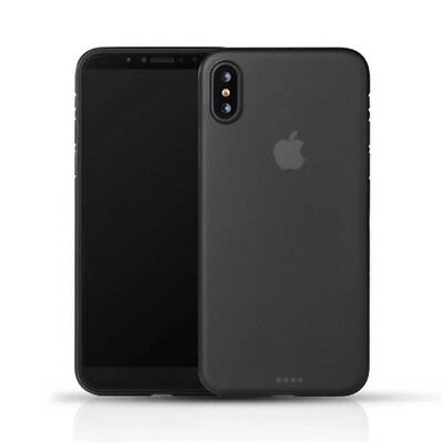 iphone X Case Matte Black Transparent Ultra Thin. Apple iphone X NEW! iPhone X