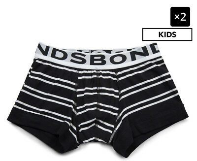 2 x Bonds Boys' Fit Trunk - Stripes