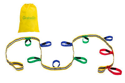 Grab & Go Childrens Walking Rope, Kids Reins, Infant Wrist Links, with Carry Bag