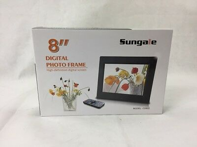 Sungale CD802 8-Inch Digital Photo Frame multimedia player, 5 star product Black