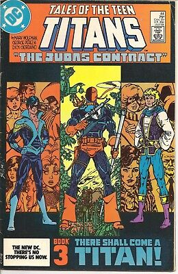 Tales of the Teen Titans(DC-1980)#44-Judas Contract Bk 3,Grayson becomes Ngtwing