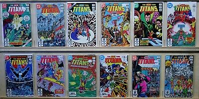 The New Teen Titans(DC-1980) #25-36 1st Appr Terra, 4th Appr Deathstroke