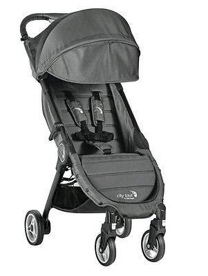 Baby Jogger City Tour Pram Stroller - Charcoal - 2014019 - NEW + FREE POSTAGE