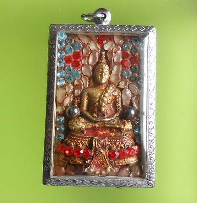 Perfect! Old Amulet Somdej Wangrang Very Rare From Siam !!!