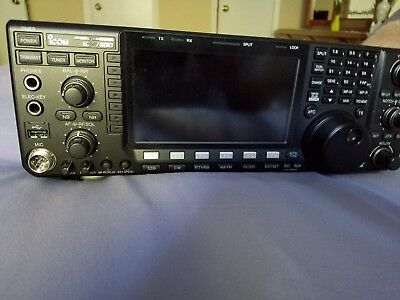 ICOM IC-7600 BASE radio, HF, 100W - with SDR play  MODS Mars